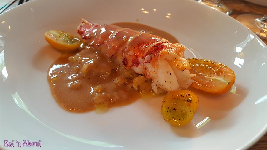 Lentil and Sustainable Lobster Cappuccino