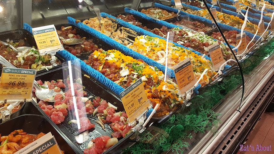 Safeway Hawaii Poke Selection