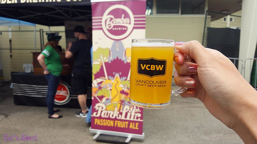 Vancouver Craft Beer Week commemorative mug