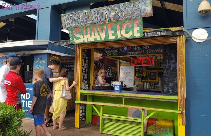 Local Boys Shave Ice - Kihei, Maui