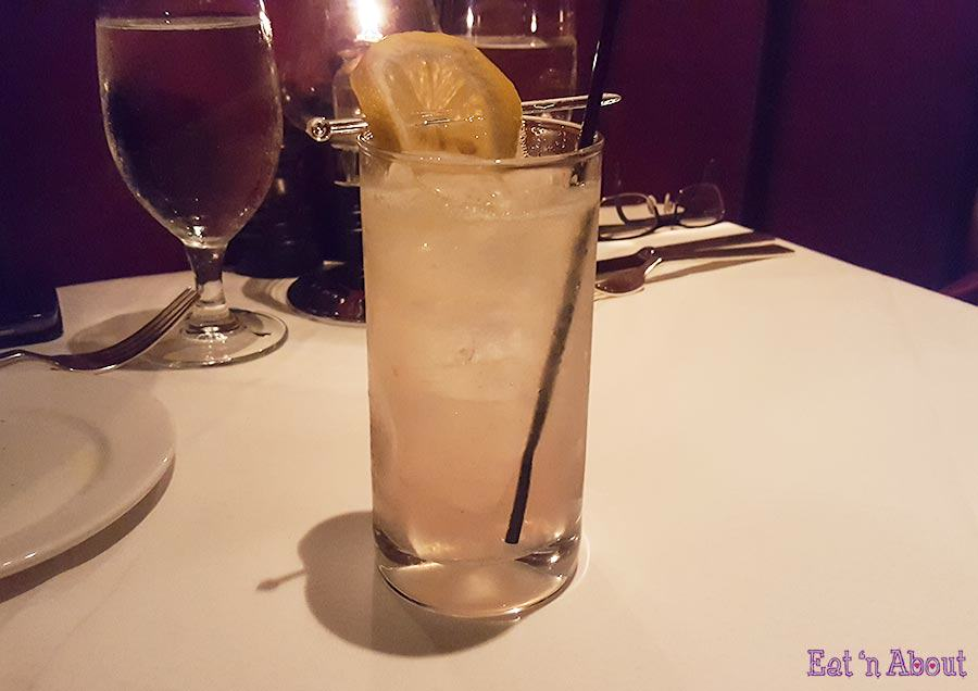 Hy's Steakhouse - Lavender Lemonade