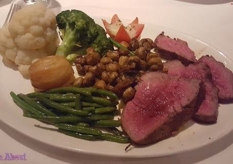 Hy's Steakhouse - Chateaubriand for two carved and plated