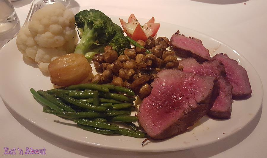 Hy's Steakhouse - Tableside Chateaubriand for two carved and plated
