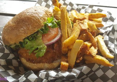 Wildside Grill - Cod Club Sandwich