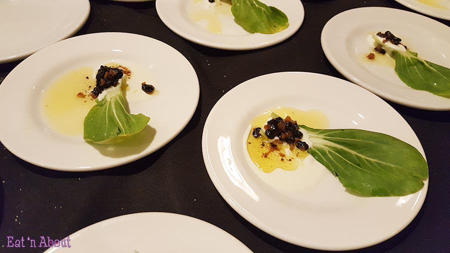 EAT! Harvest - Shanghai Shoots with Fermented Black Bean Bagna Cuada