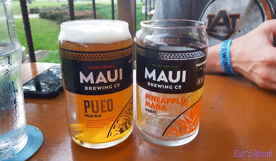 Maui Brewing Company can glasses
