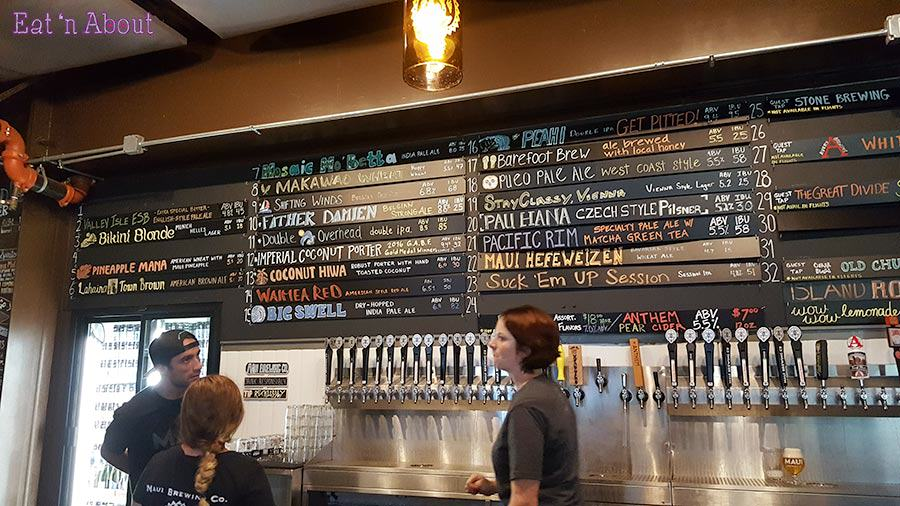 Maui Brewing Company Taps