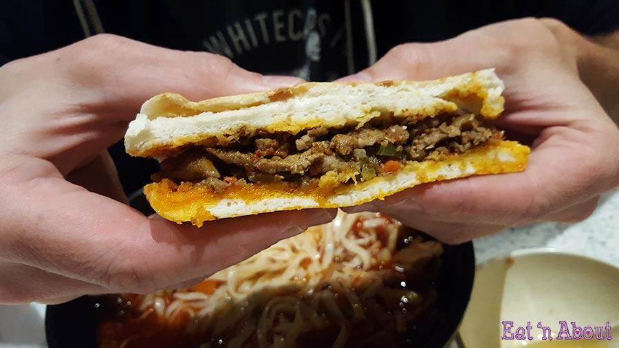 Old Xian's Food - Spicy Cumin Lamb Burger