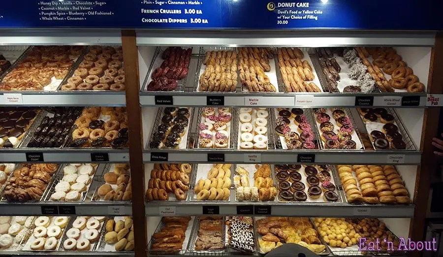 The Donut Pub New York - wall to wall donuts!