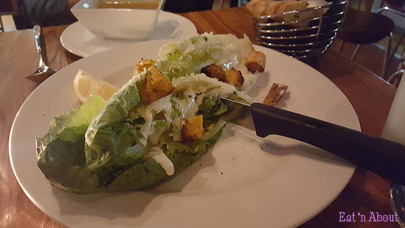 Cafe Salade de Fruits - Grilled Romaine Caesar