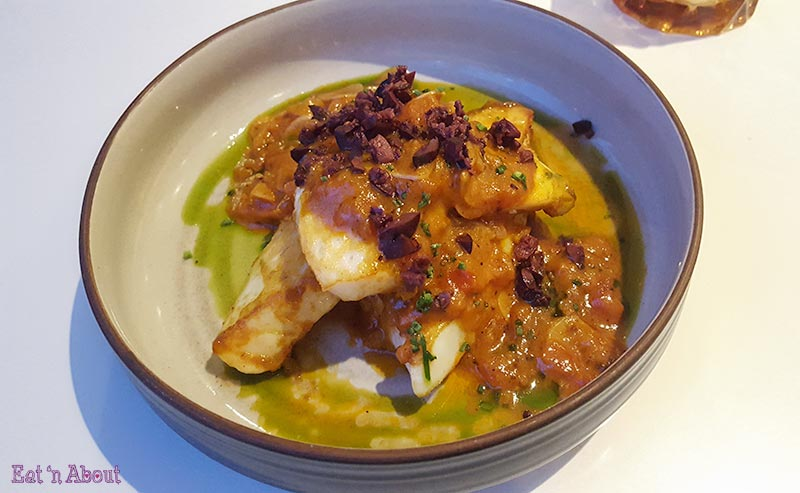 Verre Restaurant - Humboldt Squid