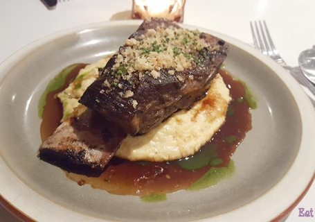 Verre Restaurant - Bone in shortrib