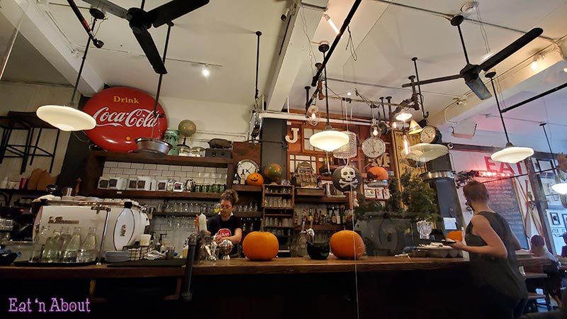 Photo of the inside of Jam Cafe Victoria