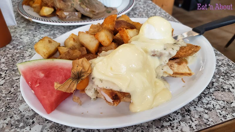 Photo of John's Place Victoria's Chicken n Waffle Benny