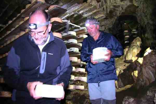 cabrales cheese cave food tour northern spain asturias