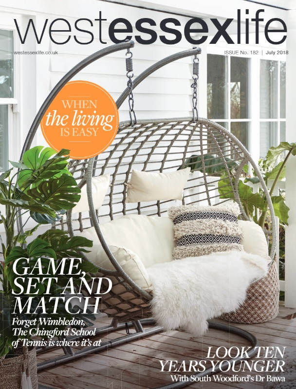West Essex Life Magazine cover July 2018