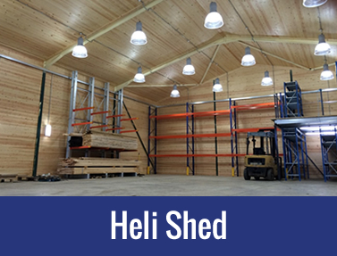 Private client – Heli Shed