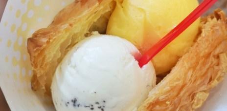 。台中 勤美誠品。KURIMU咕粒姆 泡芙:冰淇淋+泡芙的好味道。