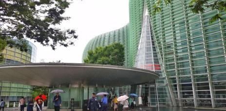 。東京 六本木。東京國立新美術館:誰說美術館只能看展 好拍X好食X好逛