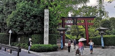 。東京 根津。根津神社-東京的千鳥居,谷根千有著杜鵑花海的東京十社之一。