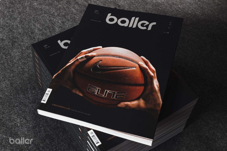 。讀書熊。 Baller 籃球誌創刊號