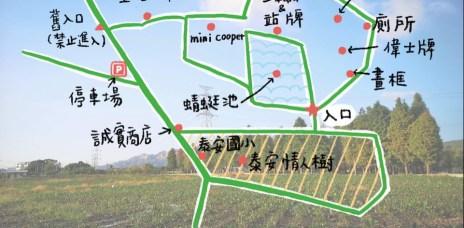 。台中 后里。泰安落羽松秘境(羽粼落羽松):2020懶人包,交通、門票、必拍景點小地圖。