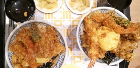 。台中 三井Outlet。金子半之助:來自日本第一職人的天丼,東京十大丼飯之一。