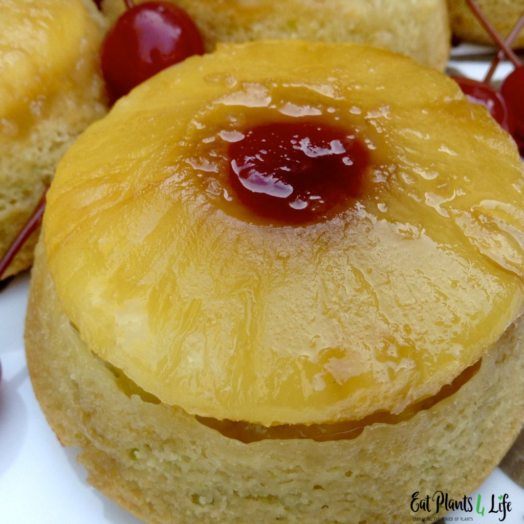 Pineapple Upside-Down Mini Cakes 4