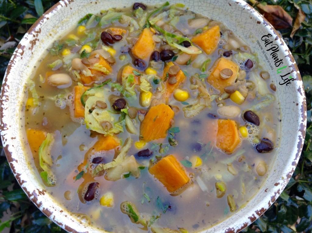 Triple Bean Sweet Potato Soup 2