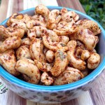 2 Spiced-Cashew Snack Recipes!!
