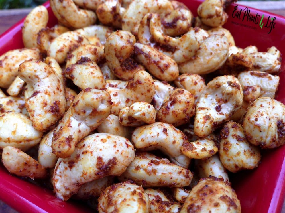 Spiced-Cashew Snack Recipes