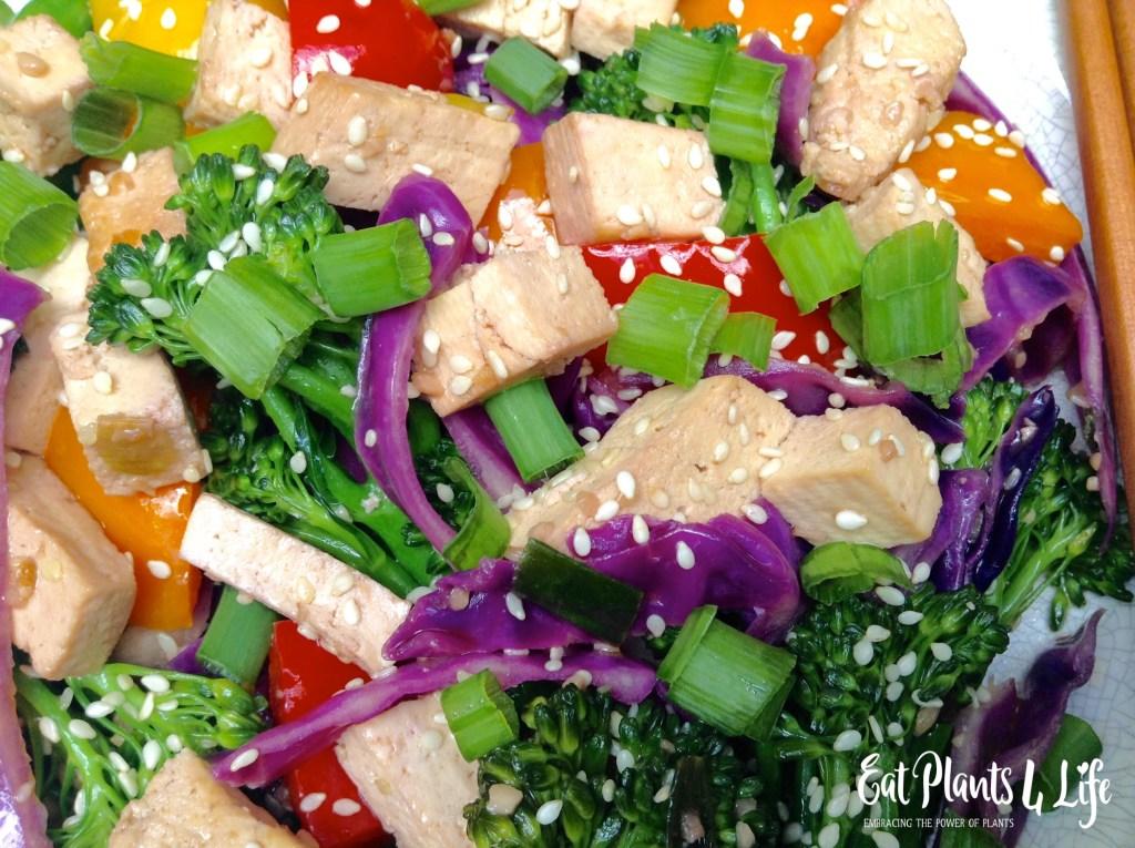 Sesame Tofu Stir-fry 2