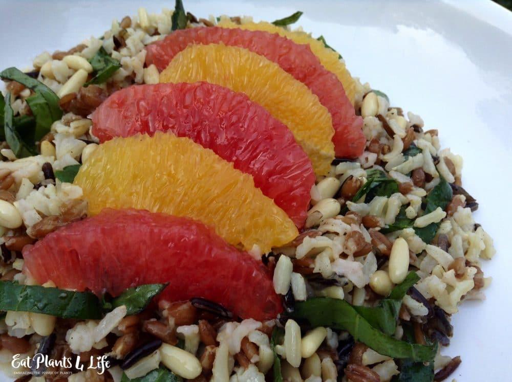Citrus Wild Rice