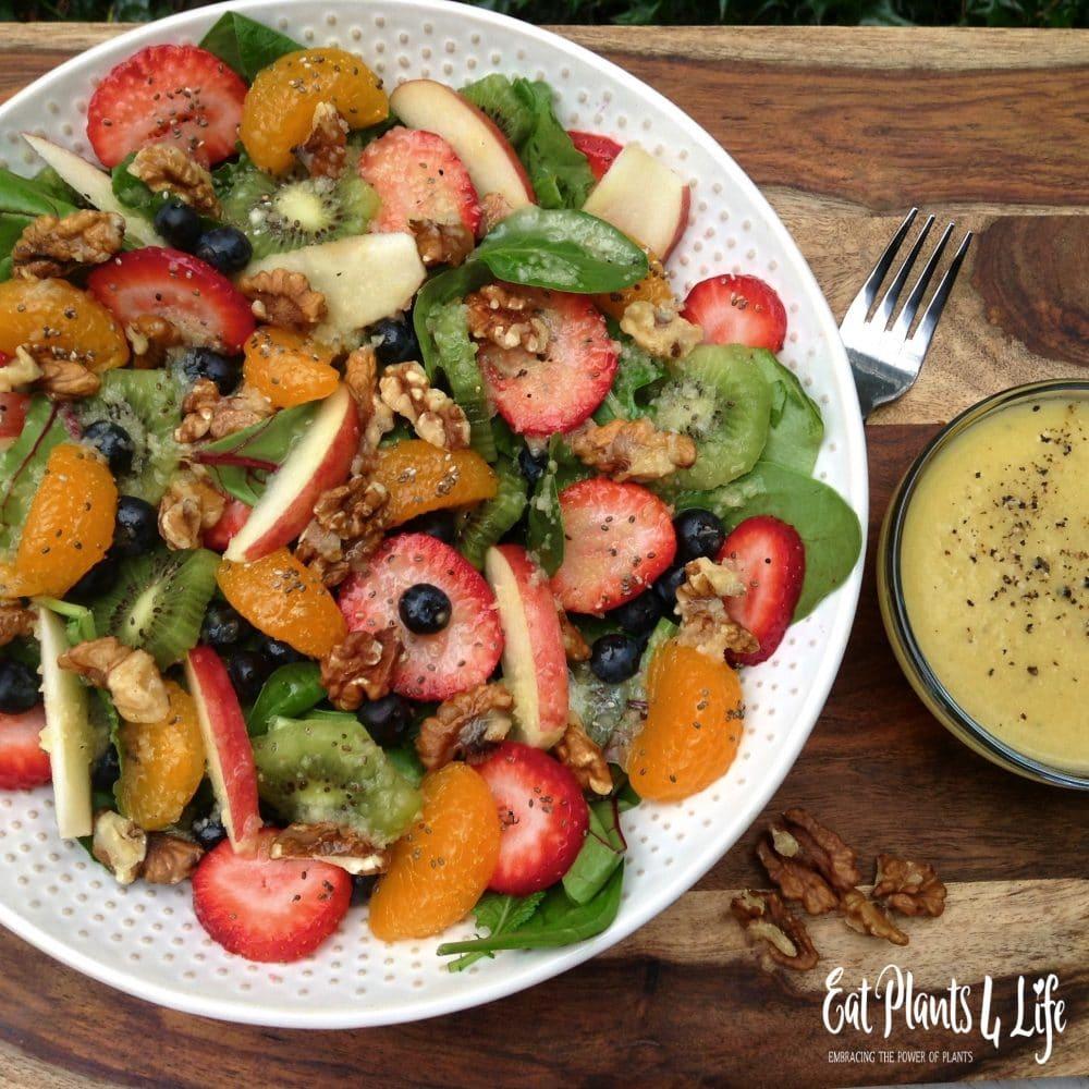 Rainbow Salad & Fuji Vinaigrette