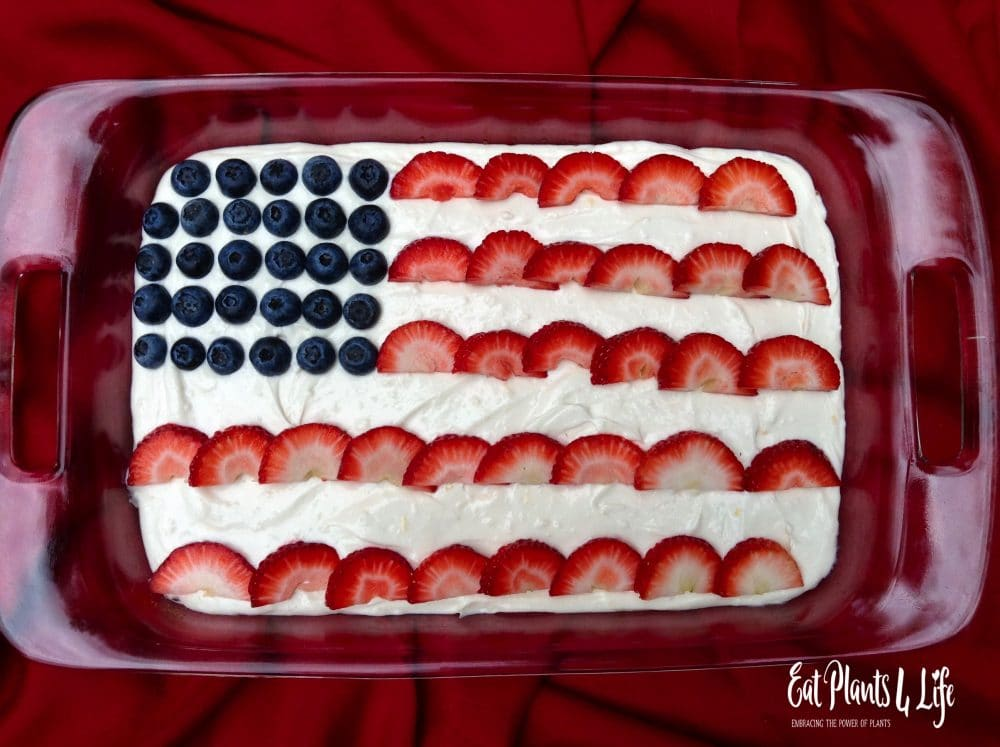 All American Berry Cheesecake | Eat Plants 4 Life