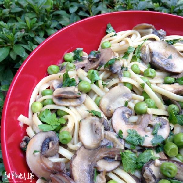 Wild Mushroom Linguine4