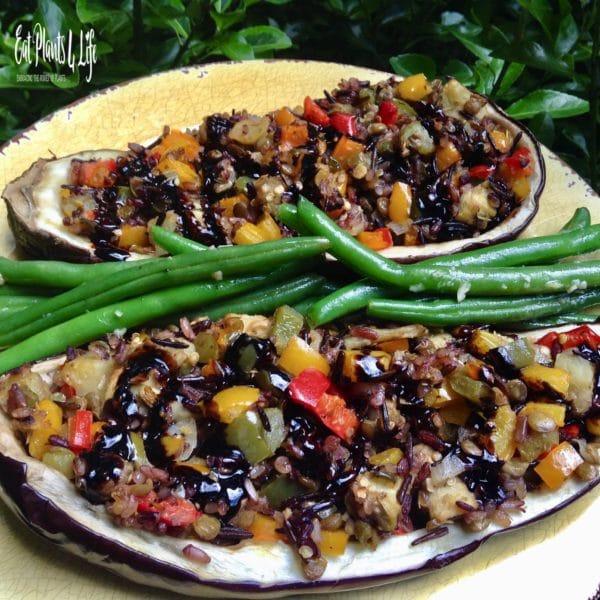 Stuffed Eggplant 3