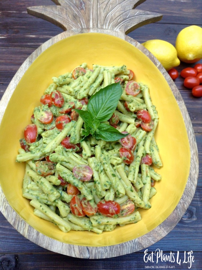 Creamy Avocado Pesto 8