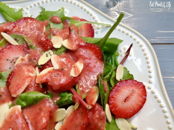 strawberry salad vinaigrette 6