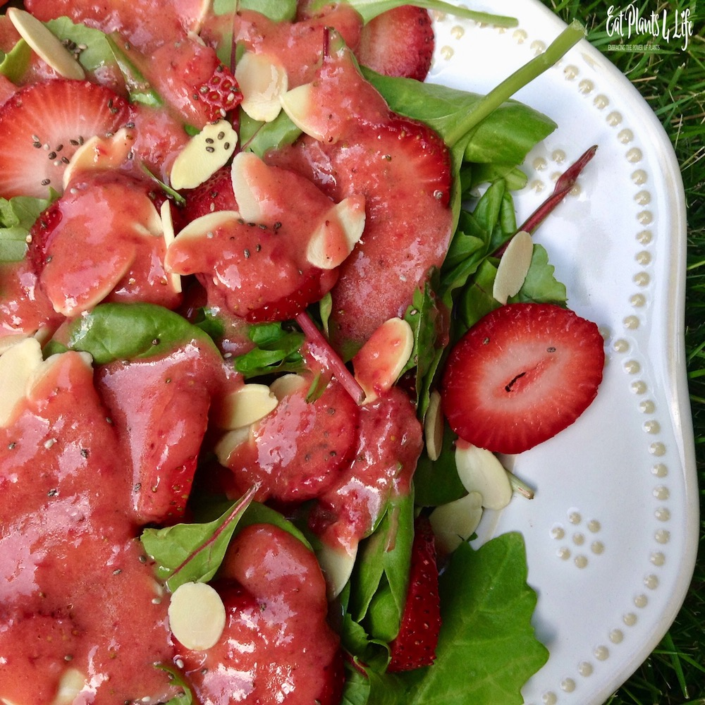 strawberry salad vinaigrette 4