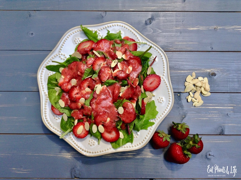 strawberry salad vinaigrette 2