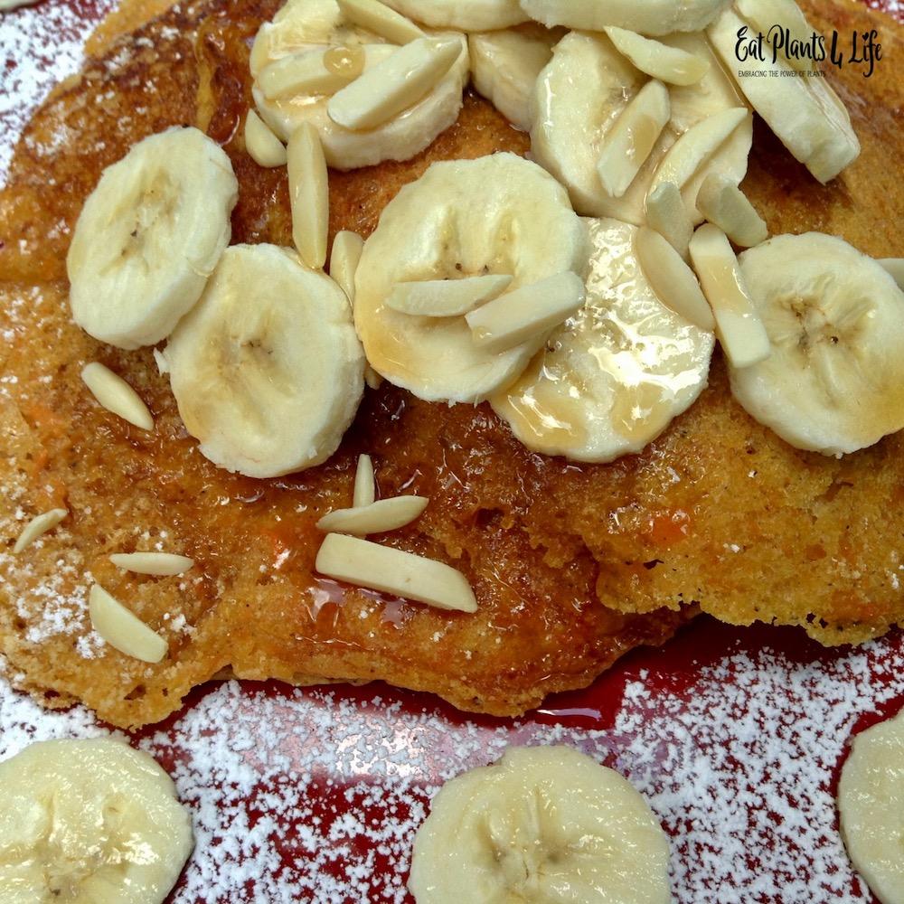 Sweet Potato Pancakes | Best Vegan Pancakes 5