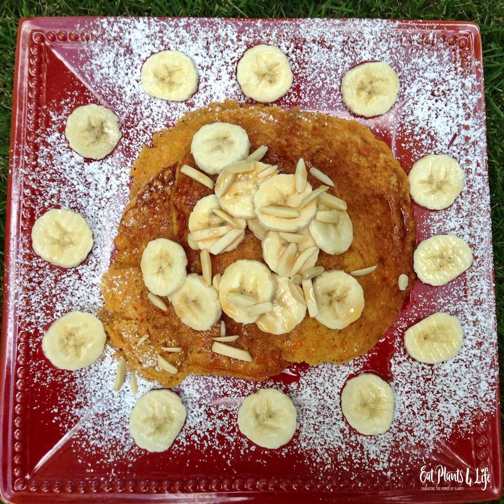 Sweet Potato Pancakes   Best Vegan Pancakes 3