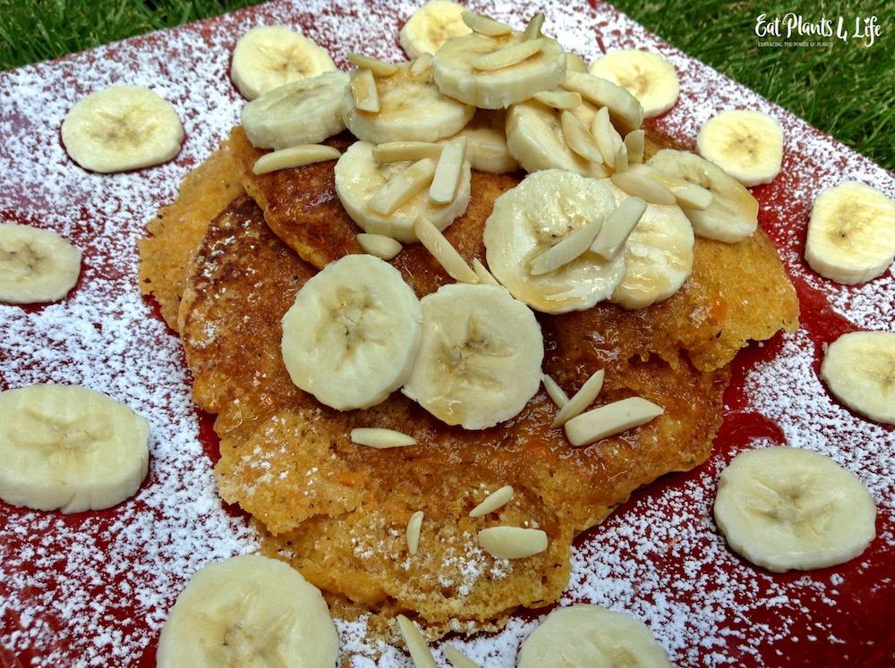 Sweet Potato Pancakes | Best Vegan Pancakes 4