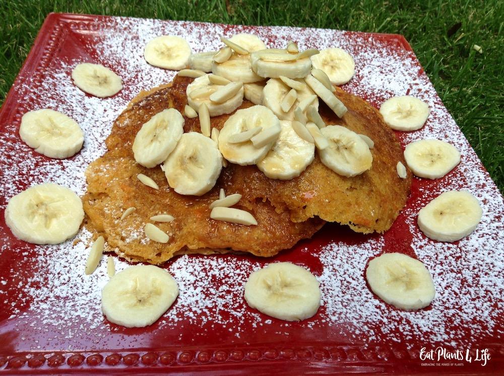 Sweet Potato Pancakes | Best Vegan Pancakes 2