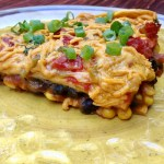 Vegan Pumpkin Enchilada Bake