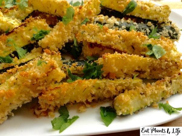baked zucchini fries 9