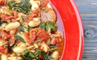 Vegan Cannellini Kale Stew