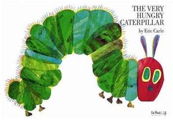 multi-award winning children's books like, The Very Hungry Caterpillar,