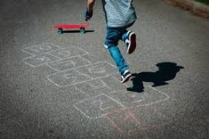 Hopscotch Stock Photos And Images - 123RF